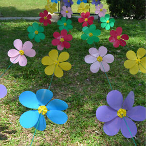 Set De Moulin A Vent Decoration Exterieur De Jardin Maison Jouet Enfants Ebay