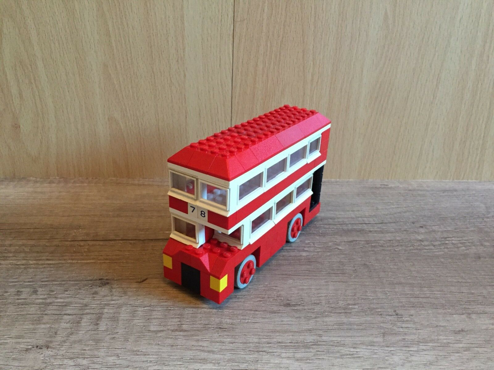 Lego 313 London Bus Classic Vehicle Traffic Stadt City Town komplett complete