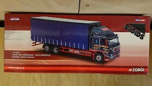 Corgi-CC13526-Volvo-FM-Curtainside-Alex-Anderson-Ltd-Edition-1000-Factory-Sample