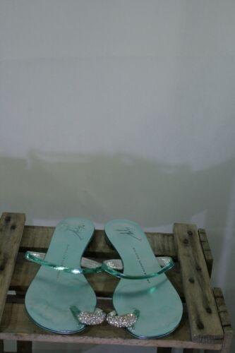 Gr Turquoise Great 37 veuillez Zanotti 272 61 mesurer cuir chaussures Giuseppe en vYwxqWwFad