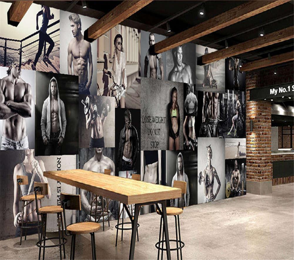 Sexy Men And Damens 3D Full Wall Mural Photo Wallpaper Printing Home Kids Decor