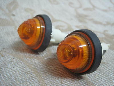 2 NOS FIAT 124 Spider Abarth 127 128 Berlina X1/9 132 RALLY Special SIDE LIGHTS
