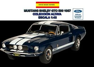 FORD-MUSTANG-SHELBY-GTO-500-1967-ALTAYA-ESCALA-1-43-AMERICAN-CARS-MUSCLE-CARS