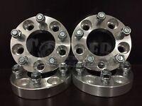 Set Of 4 Wheel Spacers 1 Aluminum 5 Lug 5x4.75 74mm Cb Fits Gmc Jimmy 1982-2005