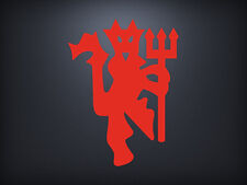 Manchester United FC Red Devil Fred the Red Football Soccer Decal Sticker
