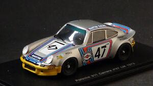 Spark 1/43 Porsche 911 Course # 47 Le Mans 1973 S0932