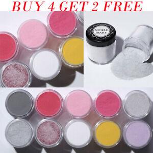 NICOLE-DIARY-Nail-Dip-Dipping-Acrylic-Powder-Shimmer-Polish-Decoration