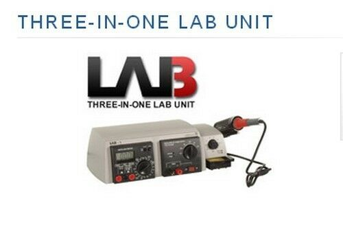 VELLEMAN LAB1U THREE-IN-ONE LAB UNIT ****SPECIAL************