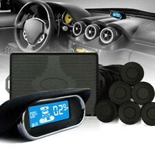 8 Parking Sensors LCD Display Car Vehicle Reverse Backup Front Radar System Kit