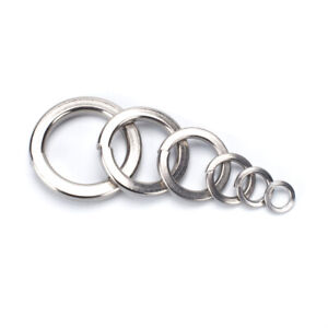 Stainless-Steel-Washer-Spring-Gasket-Flat-Screw-M3-M4-M5-M6-M8-M10-Various-Size