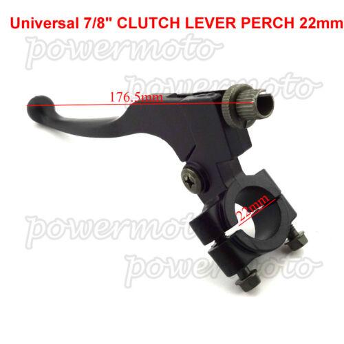 7//8/'/' Left Clutch Perch Handle Lever Fit  50cc 110cc 125cc 140cc 250cc Pit Bike