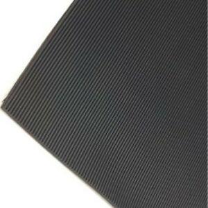 Fine Ribbed Rubber Flooring Roll For