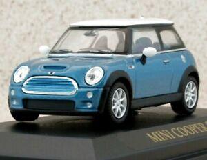 MINI Cooper S - bluemetallic - YATMING 1:43