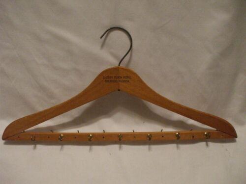 """Vintage Wooden 18"""" Belt (15) Hook Hanger Advertise"""