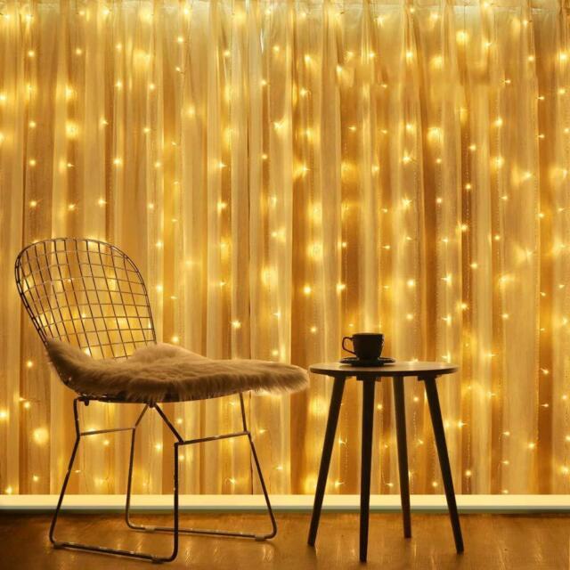 Fairy Lamp USB Operated LED String Lights  Curtain Light 300 Leds