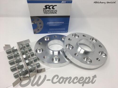 50mm 2x25mm SCC Spurverbreiterung Audi 5//112 66,6 Distanzscheiben Spurplatten