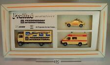 Praline 1/87 Set Friedensdorf International Ford Transit / Escort & MB OVP #635