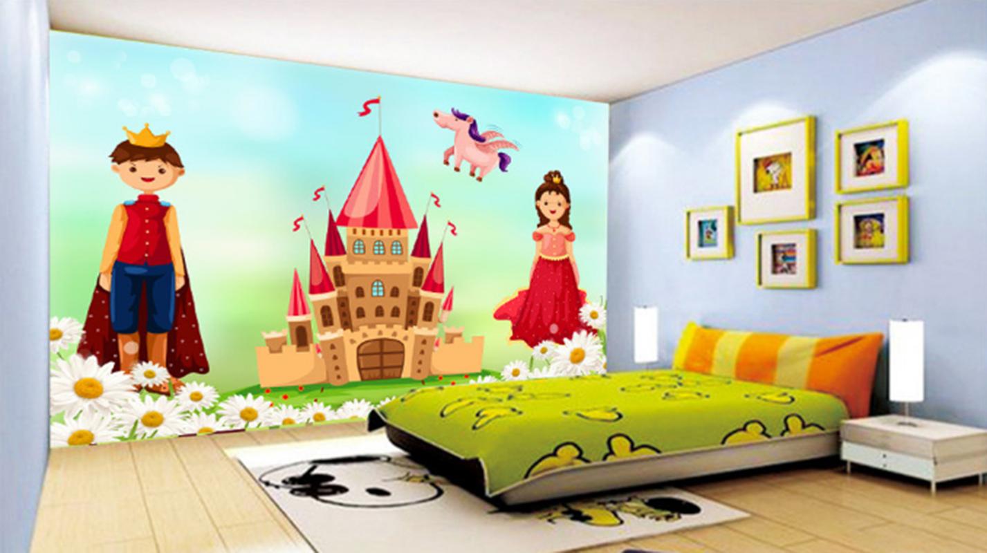 3D Cartoon House 97 Wallpaper Mural Paper Wall Print Wallpaper Murals UK Kyra