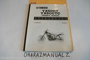 YAMAHA-YX600-YX600TC-Owners-Owner-Owner-039-s-Manual-LIT-11626-05-64