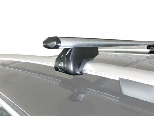 Aluminium Aero Dynamic Locking Roof Rack Rail Bars Seat Alhambra