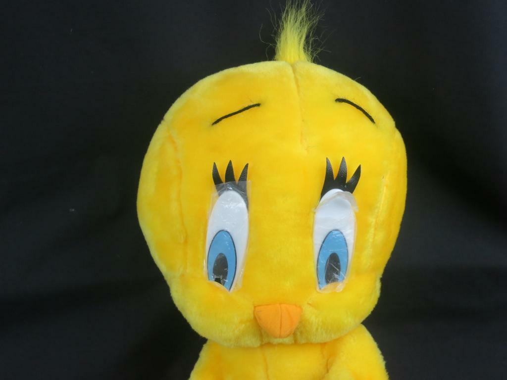 BIG NEW TWEETY BIRD  LOONEY TUNES  PLAY-BY-PLAY PLUSH STUFFED ANIMAL  POSEABLE