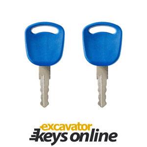 Excavator Grader Dozer Set of 2 Kato KV02 Excavator Key