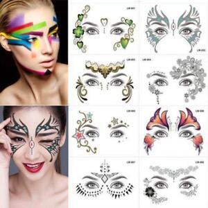 Gesicht-Temporaere-Tattoo-Sticky-Weddings-Party-Gesicht-Koerper-Make-Up-Hot-R3Q5