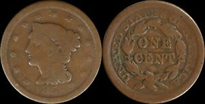 Large-Cent-NO-Date-Coronet-Matron-Head-US-Type-Coin-Copper-1800-039-s-Penny-Filler