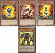 Authentic Mr. Kay Deck - Super Crashbug - Crashbug - Yugioh  - NM - 41 Cards