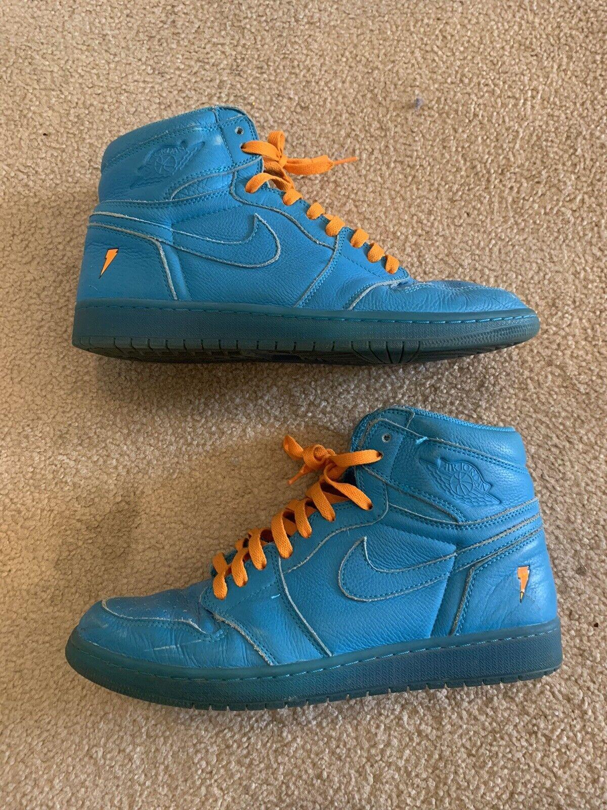 Jordan 1 Retro High OG Gatorade Blue Lagoon Size 11
