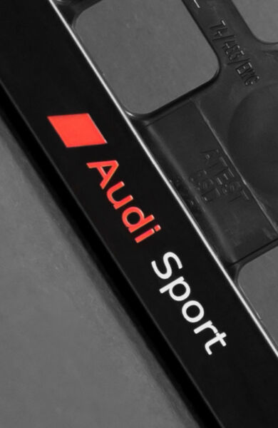 2 X Audi Sport Kentekenplaathouder