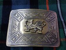 Men's Kilt Belt Buckle Welsh Dragon Antique Finish/Celtic Dragon Buckle for Kilt