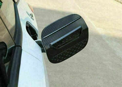 For Honda Accord 2018-2021 Carbon Fiber ABS Fuel Filler Gas Tank Cap Cover Trim