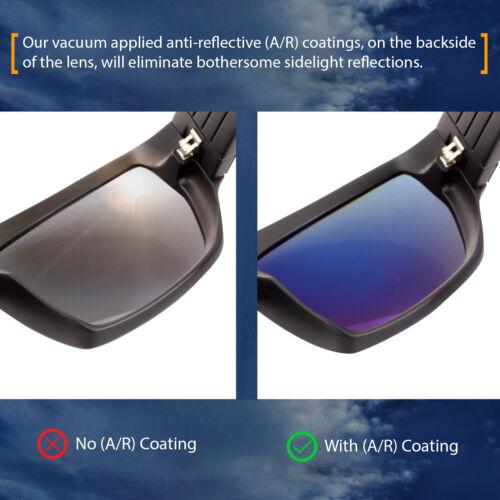 Polarized IKON lentilles de remplacement pour Von Zipper Fulton Sunglasses Green Mirror