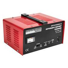 Sealey Electronic Battery Trickle Charger/Charging 12Amp 6/12V 230V-AUTOCHARGE12