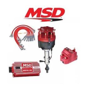 image is loading msd-9117-ignition-kit-digital-6al-distributor-wires-