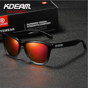 e23bfaa69a Image is loading KDEAM-Mens-Polarized-Sunglasses-Outdoor-Sport-Driving- Fishing-
