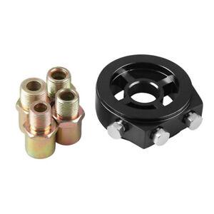 M20 X 1.5 Oil Filter Temp Pressure Cooler Gauge Sandwich Plate Adapter Sensor Pr