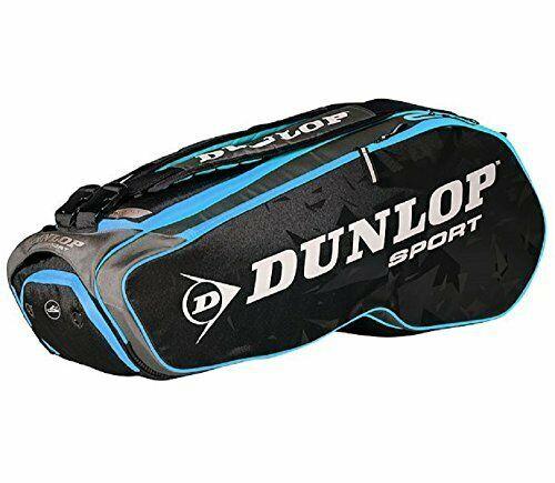 Rot Dunlop D TAC CX Team 8 Pack BLK//Red Tennisbeutel f/ür Erwachsene Unisex Schwarz Einheitsgr/ö/ße