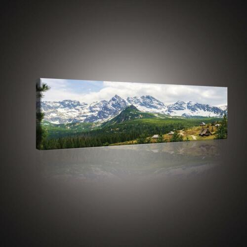 CANVAS Leinwand bilder XXL Malerische Tatra Gebirge Bild Wandbild 15F0153960