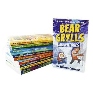 Bear Grylls Adventure 12 Books Young Adult Collection Paperback Set