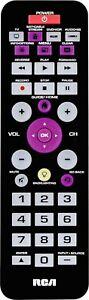 NEW-RCA-4-Device-Universal-Remote-Control-Black-RCRBB004RWDZ-TV-DVD-Cable-Stream