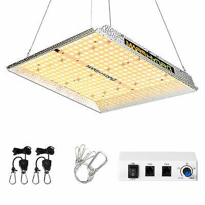 Grow Light LED Licht Vollspektrum Pflanzenlampe 70W Samsung LM301H 3500K IR