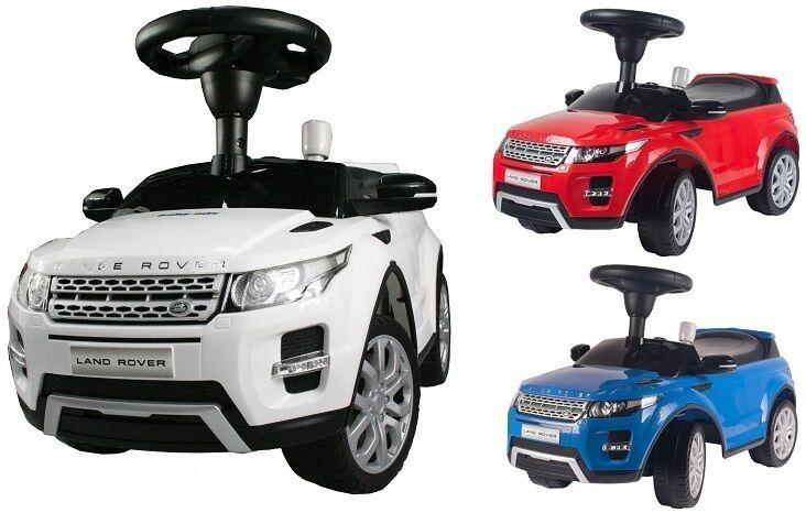Rutschauto RANGE ROVER Lizenziert  Rutscher Kinderauto Kinderfahrzeug Kinderauto