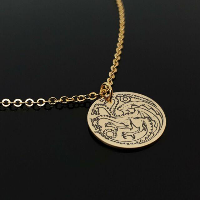 5 Or 10PCs Game Of Thrones House Targaryen Sigil 31mm Dragon Pendants C1816-2