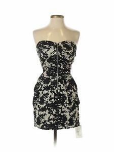NWT-Mystic-Women-Black-Cocktail-Dress-S