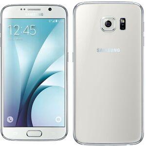 Samsung-Galaxy-S6-32-Go-Blanc-Debloque-tout-operateur-Bon-etat-SM-G920FZWA