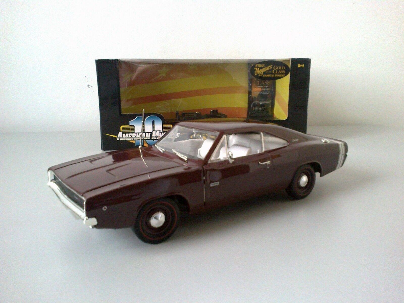 Dodge charger 1968, ertl 1   18.
