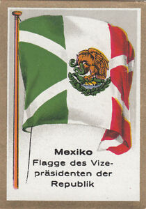 DRAPEAU-MEXICO-MEXIQUE-Vice-President-Republique-Republic-FLAG-CARD-30s