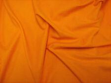 Orange Canvas Fabric Medium Weight 100%Cotton 150cm Wide Sold Per Metre